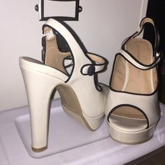 Peep toe heels Brand new without box, Lauren Conrad brand Shoes Heels