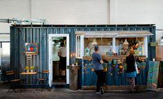 Velkommen til Copenhagen Street Food - PapirØen : Copenhagen Street Food: shipping container