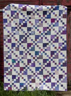 Every Last Piece - feature quilt of the week - The Color Purple