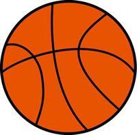 Sports Rugs-Basketball Shape Rug