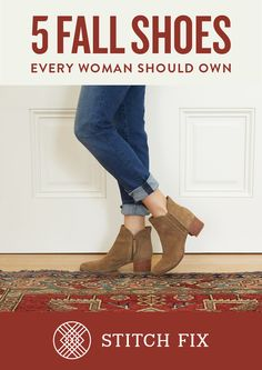 See the 5 fall shoes every woman should own.