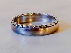 Sterling Navajo Snake Band  Size 7  Ring      Designer Signed by GemstoneCowboy…