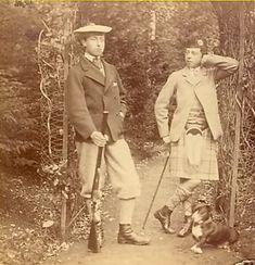 Prince Leopold and Prince Arthur