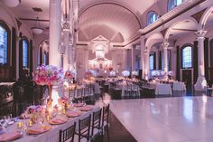 Venue: Vibiana Photography: Hitched Photo Wedding Planner: Chloe & Mint Event Décor & Florist: Tic Tock Floral Food &Beverage: Chef Neal Fraser Entertainment: Subito Strings Rentals: Signature Party Rentals Extreme DJ Service: Alex Espinosa Linen: Wildflower Linen