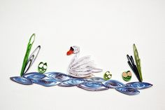 Jul and Joy!: The Swan - quilling