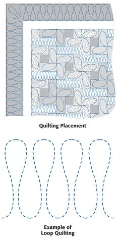 Quiltmaker's Back to School Party: Day 4 includes quilting instructions for Hip-Hopscotch, the free Back to School pattern.