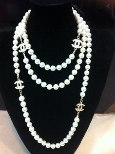 A woman can never have too many pearls...