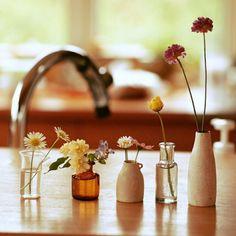 chacoさんの、庭の花,植物,器,机,のお部屋写真