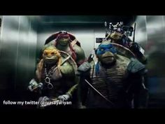 The Elevator Scene, this part made my entire life :D #tmnt #tmnt2014