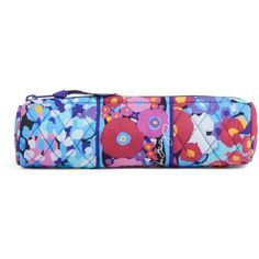 Vera Bradley On a Roll Case in Impressionista ($13) ❤ liked on Polyvore featuring home, home decor, office accessories, impressionista, colored pencils, vera bradley pencils, coloured pencils, vera bradley pen and colored markers