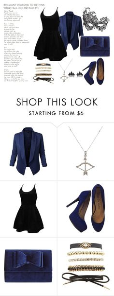 """""""Little Black Dress"""" by bad-wolf-18 ❤ liked on Polyvore featuring Jupe de Abby, Feathered Soul, Masquerade, WithChic, Pour La Victoire, INC International Concepts, Charlotte Russe and Fallon"""