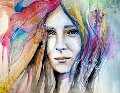 Wind Within - watercolors, inprnt, illustration, print, poster, art
