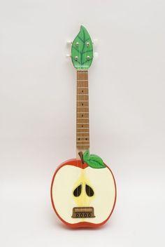 Custom Made Apple acoustic ukulele by celentanowoodworks on Etsy
