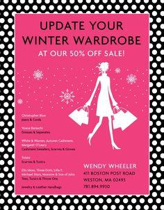 Wendy Wheeler: Update your winter wardrobe