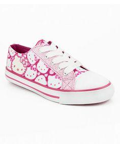 Pink Hello Kitty Fawn Sneaker