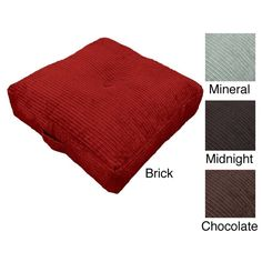 Perry Oversize 24-inch Floor Cushion Pillow