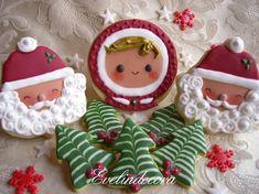 Royal Icing Christmas Cookies   Christmas Cookies with Royal Icing