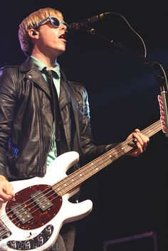 Riker Lynch- I would hate to have to wear a jacket and perform!! I would get so hot!