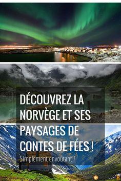 Les contes de fées sont réels ! Les paysages norvégiens sont à couper le souffle de part leur beauté et leur féerie ! On croirait vraiment que l'on est dans un contes, dans un monde quasi irréel ! Mais on est bien sur notre chère Terre ! #paysages #norvège #contes #contedefées #nature #photographies #aurores