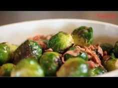How to Make Brussels Sprouts with Prosciutto - Cooking Light Recipe - #HEALTHYRECIPE #healthy #lowfat #lowcalorie #diet #cookinglight #MyBSisBoss