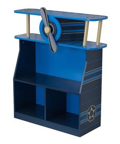 Look at this KidKraft Airplane Bookcase on #zulily today!