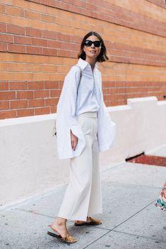 Street style à la Fashion Week printemps-été 2018 de New York