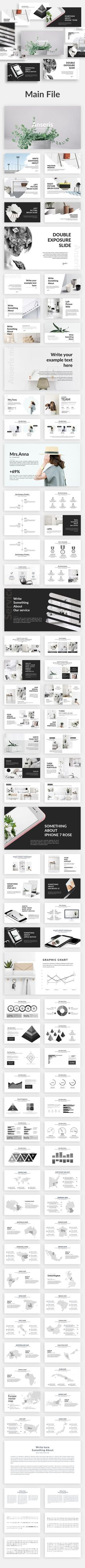◡ [Get Free]◖ Anseris - Minimal Powerpoint Template Agency Bleached Bluestack Casual Chart Corporate Powerpoint Themes, Creative Powerpoint Templates, Powerpoint Presentation Templates, Free Keynote Template, Web Design, Layout Design, Creative Design, Keynote Design, Keynote Presentation
