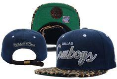 NFL Dallas Cowboys Leopard Fur Strapback Hat (1) , buy online  $5.9 - www.hatsmalls.com