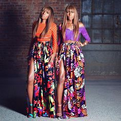 Sister Sister: Identical Twins Make A Surprising Fashion Show Debut Chantelle and Danielle