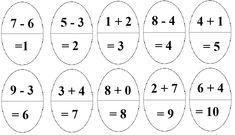 Výsledek obrázku pro pracovní list  matematika 1. ročník, Velikonoce Math Equations, Words, Horse