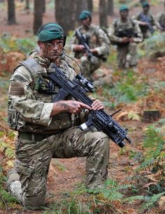 #British : Royal Marine Commandos #Royal_Marines #royalmarines