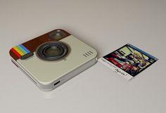 Instagram Socialmatic Camera (concept)