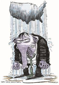 GOP Raincloud