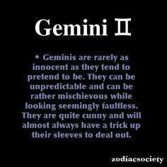 gemini horoscope fun facts