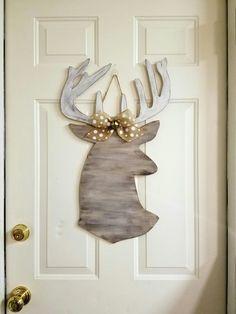 Reindeer Craft Diy Deer Heads