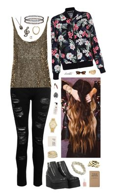 """""""917"""" by glitterals ❤ liked on Polyvore featuring New Look, Donna Karan, H&M, J.Crew, Michael Kors, Topshop, Alexis Bittar, Noir, Essie and philosophy"""
