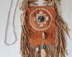 Your place to buy and sell all things handmade Rustic Feel, Braided Leather, Leather Purses, Dream Catcher, Feather, Buy And Sell, Beads, Detail, Handmade