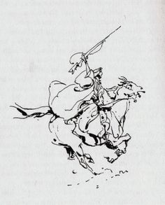 """from the 1977 book """"Reitvorschrift fuer eine Geliebte"""" (Riding Rules for a Lover) Animation Sketches, Drawing Sketches, Drawing Tips, Horse Drawings, Art Drawings, Contour Drawings, Drawing Faces, Gesture Drawing, Life Drawing"""