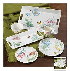Lenox® Butterfly Meadow Melamine Dinnerware Collection | Younkers