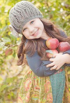 Precious Child ~ Autumn Apple Picking