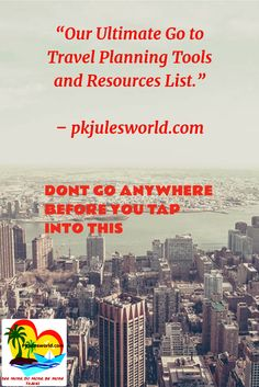 Our Go to #TravelPlanning tools and Resources! #traveltools #TravelTuesday