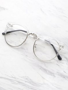 Clear Frame Glasses With Clear Lens 692517c736