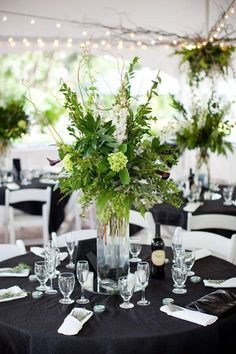 wedding flower greenery arrangements - Google Search
