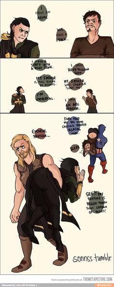 Tony and Loki