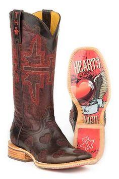 Tin Haul Shoes Mens Make It Rain Work Boot