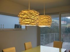 I want to diy our drum light fixture to make it look like this. Would be SO cute in the nursery!