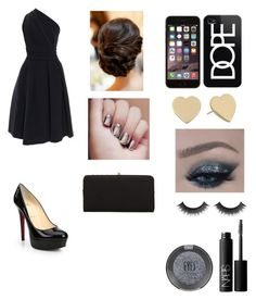 """""""PARTY"""" by burusa2 ❤ liked on Polyvore featuring beauty, Topshop, NARS Cosmetics, Christian Louboutin, Kate Spade, Casetify, Urban Expressions and Preen"""