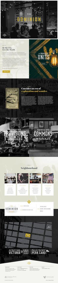 The Dominion Rocket, vintage design website