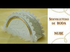 """Cómo hacer servilleteros de boda """"Nube"""" TUTORIAL Inerya viris"""