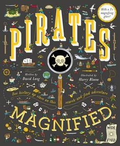 Pirates Magnified : David Long : 9781786030276 Pirate Words, Famous Pirates, Prize Box, Wheres Wally, Earth Book, Finding Treasure, Best Children Books, Christmas Crackers, Pirate Theme